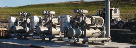 First pipeline-quality gas produced!